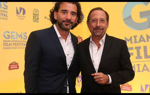Pablo Trapero and 'The Clan' star Guillermo Francella